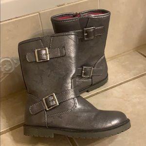 Cherokee little girl's metallic boots